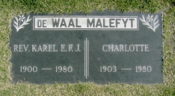 Rev Karel E.F.J. De Waal Malefyt