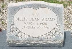 Billie Jean Adams