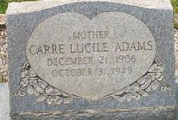 Carre Lucile Adams