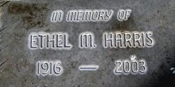 """Ethel Marie """"Mamie"""" <I>Truebody</I> Harris"""