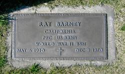 Pvt Ray Barney