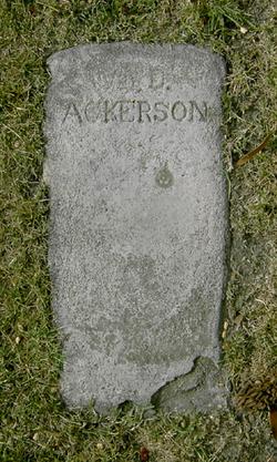 William D. Ackerson