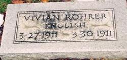 Vivian Rohrer English
