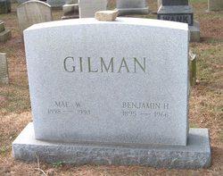 Benjamin H Gilman