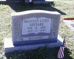 Thaddeus Ezzell Sistare