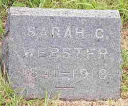 Sarah C <I>Bowman</I> Webster