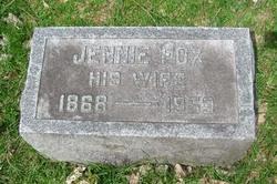 Jennie <I>Steenburgh</I> Fox