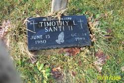 Timothy Lawrence Santi, II