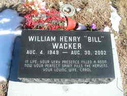 William Henry Bill Wacker