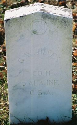 Pvt George W Hines
