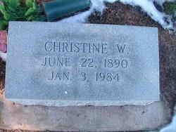 Christine <I>Walker</I> Hitch