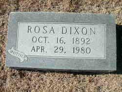 Rosa Emma <I>Henning</I> Dixon
