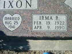 Irma R. <I>Lolar</I> Dixon