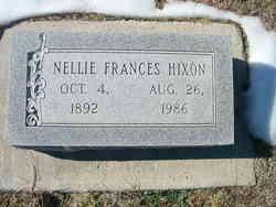Nellie Frances Hixon