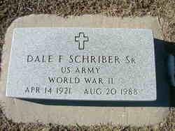 Dale F. Schriber, Sr