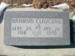 Kathryn <I>McMains</I> Schriber
