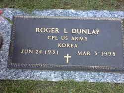 Corp Roger L. Dunlap