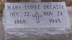 Mary Carmelite <I>Lopez</I> Delatte