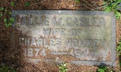 Allie M. <I>Casler</I> Homkey