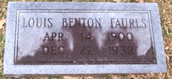 Louis Benton Faures