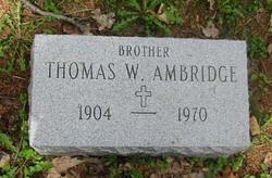 Thomas William Ambridge