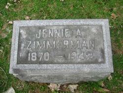 Jennie A. Zimmerman