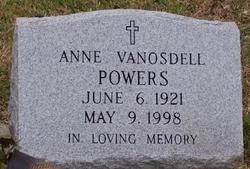 Anne <I>Van Osdell</I> Powers