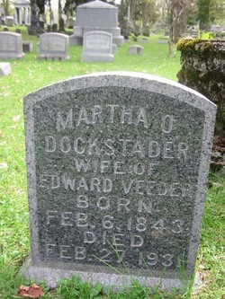 Martha O. <I>Dockstader</I> Veeder