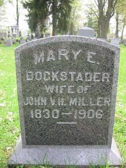 Mary E. <I>Dockstader</I> Miller