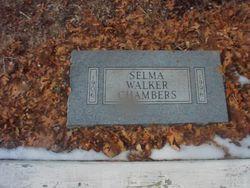 Selma <I>Walker</I> Chambers