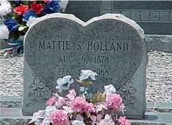 Mattie <I>Sloan</I> Holland