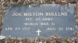 Joe Milton Bullens