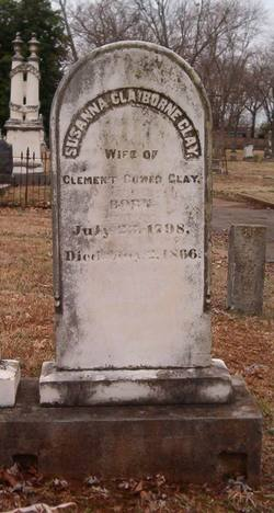 Susanna Claiborne <I>Withers</I> Clay