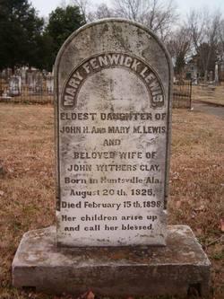 Mary Fenwick <I>Lewis</I> Clay
