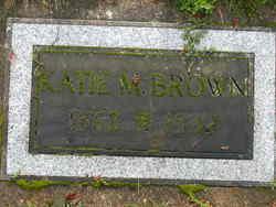 Katie M <I>Miller</I> Brown