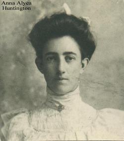 Anna Agnes <I>Alyea</I> Huntington