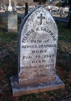 Felicia A. <I>Pickett</I> Chapman