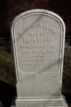 """Elizabeth """"Eliza"""" <I>Lyon</I> Clark"""