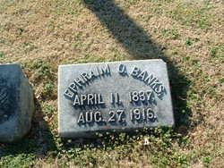 Ephraim O. Banks