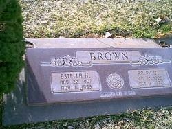 Ralph O Brown