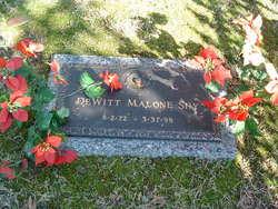 DeWitt Malone Shy