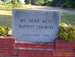 Mount Olive West Baptist Church Cemetery