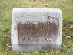 Gladys Snyder Whitcomb