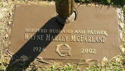 """Wayne Harley """"Mac"""" McFarland"""