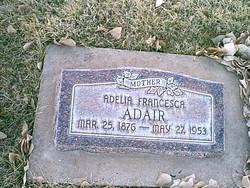 Adelia Francesca <I>Sawyer</I> Adair