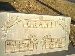 Lucille <I>Duffin</I> Grant