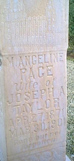 Margaret Angeline <I>Pace</I> Taylor