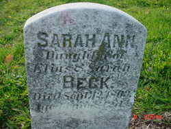 Sarah Ann Beck