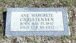 Ane Margrete <I>Petersen</I> Christensen