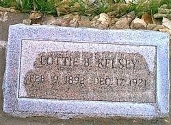 """Charlotte M """"Lottie"""" <I>Ballard</I> Kelsey"""